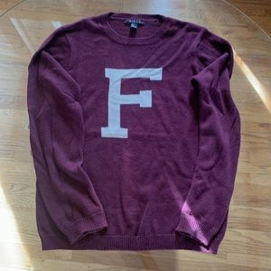 MEN'S SWEATER F LOGO
